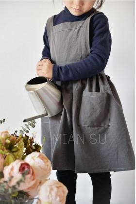 아동 원피스 앞치마
