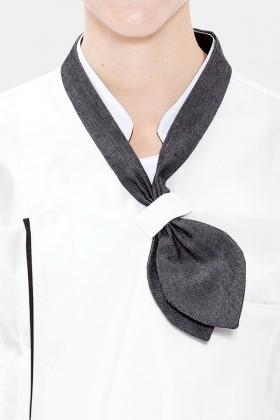 별도고리형 단색 스카프
